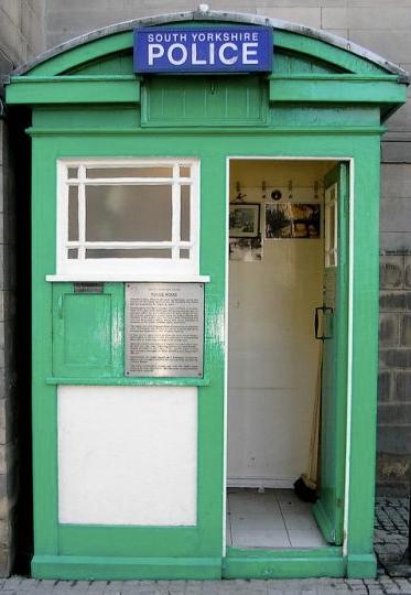 Sheffield's Police Box