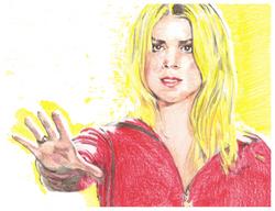 Bille Piper as Rose Tyler