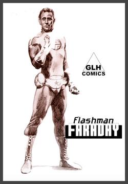 Flashman Faraday with logo