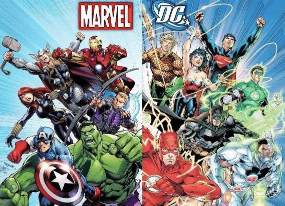 Marvel vs DC Round 3