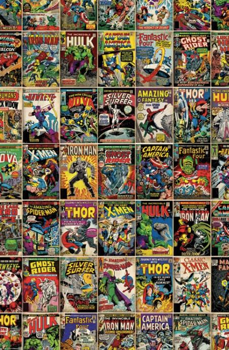 Comics, comics, comics!
