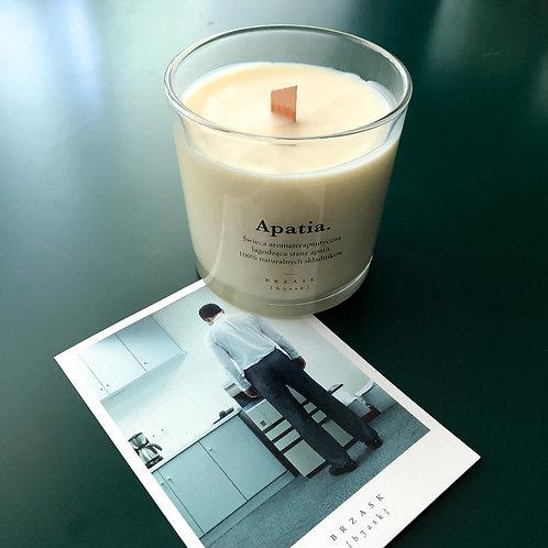 APATIA. świeca aromaterapeutyczna