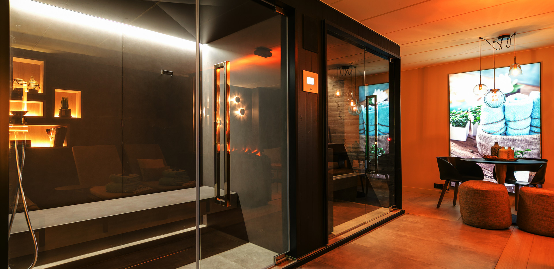 Sauna en Hammam www.wellclusive.be  Sauna te Rijkevorsel