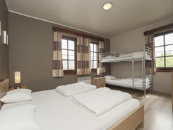Vakantiewoning Ardennen slaapkamer