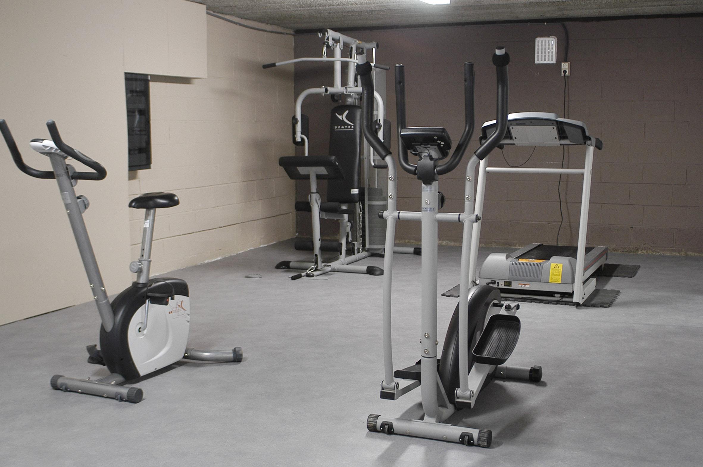 Fitnesstoestellen