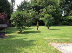 Afgesloten tuin vakantiewoning