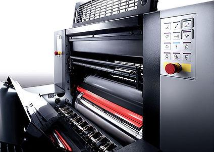 drukpers speedmaster SM drukmachine druk
