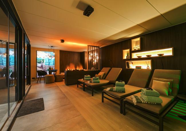 Wellnessruimte Wellclusive luxe sauna Rijkevorsel
