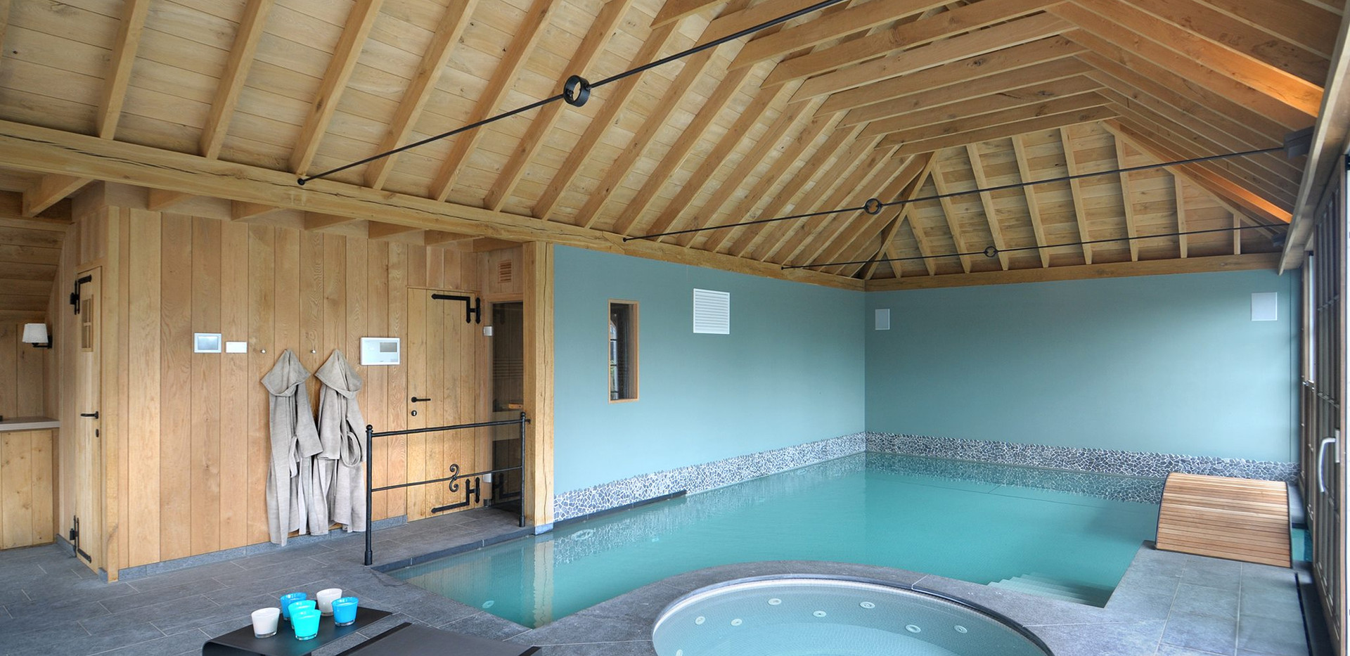 Poolhouse Wellclusive prive sauna Rijkevorsel
