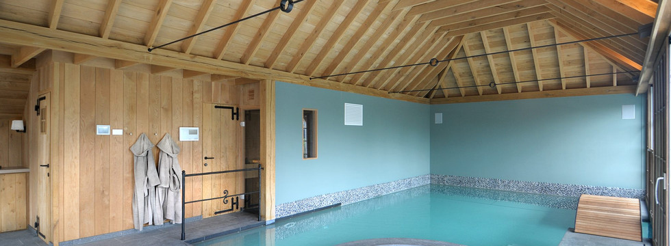 Poolhouse Wellclusive prive sauna Rijkevorsel