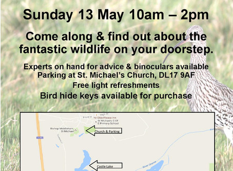 13th May: Castle Lake, Bishop Middleham - FREE Open Day!