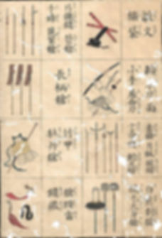 Page layout of an antique Samuai equipment manual