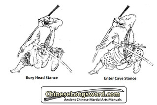 "Mystery Solved: ""Bury Head"" and ""Enter Cave"" stances of the Chinese Long Saber"
