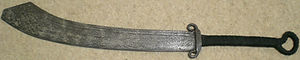 Antique Dadao Chinese War Sword Big Saber