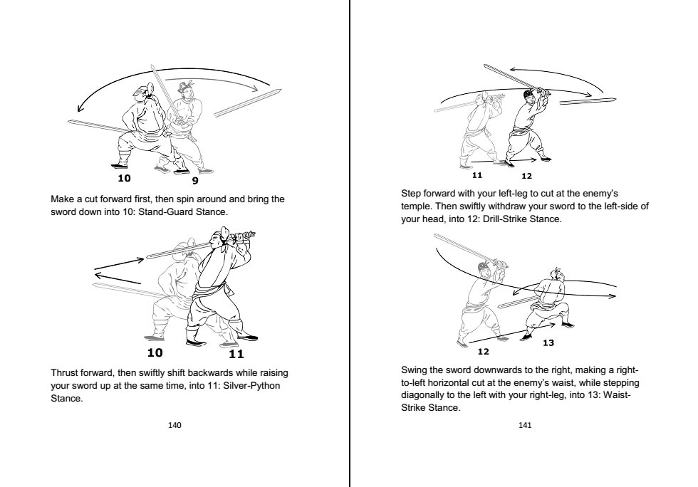 Jian Chinese Straight Sword 劍 - Historical Manual