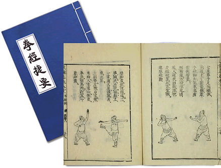 拳經捷要 Ming Dynasty General Qi Jiguang Fist Empty-hand Fighting Manual