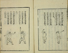 Original Page from 拳經捷要 General Qi Jiguang Fist Manual