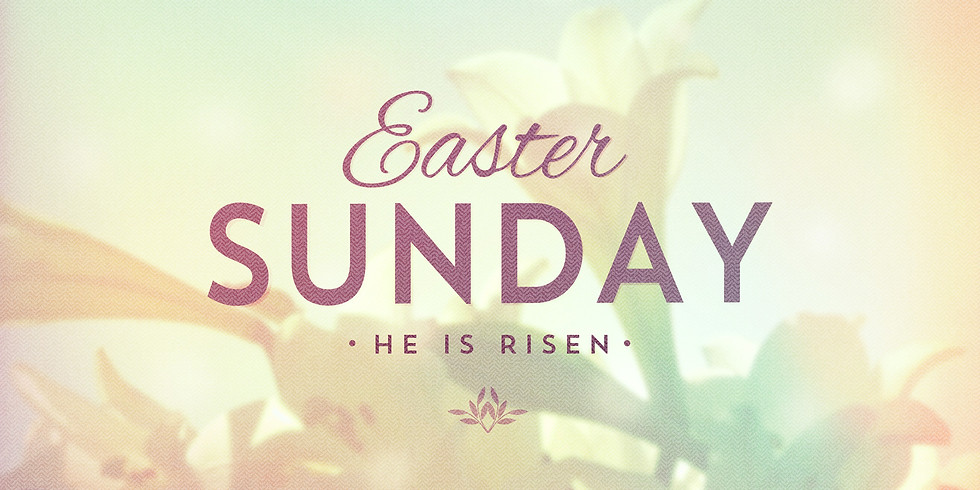 6:45 AM Easter Sunrise Service, Sunday, April 4, 2021