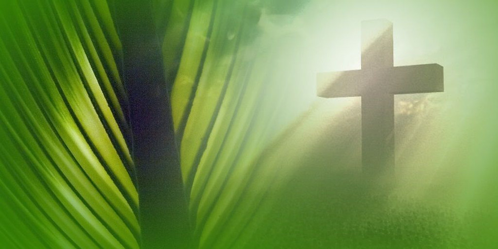 11:30 AM Worship Service for Palm Sunday, March 28, 2021