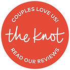 The Knot Wedding Shop Badge - Read Our Reviews