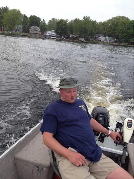 Oneida Lake, New York fishing pictures