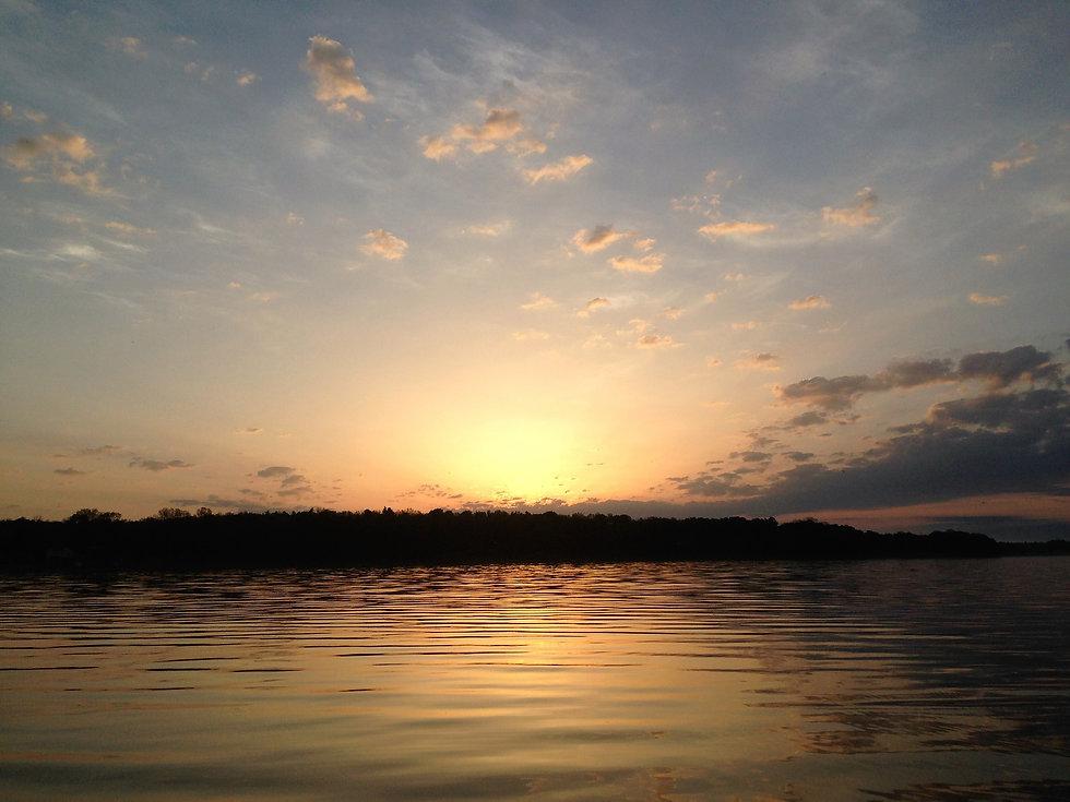 Oneida Lake NewYork sunrise