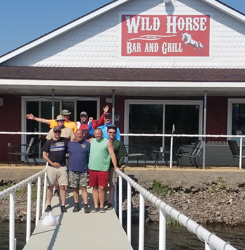 Oneida Lake, New York, wild horse bar and grill