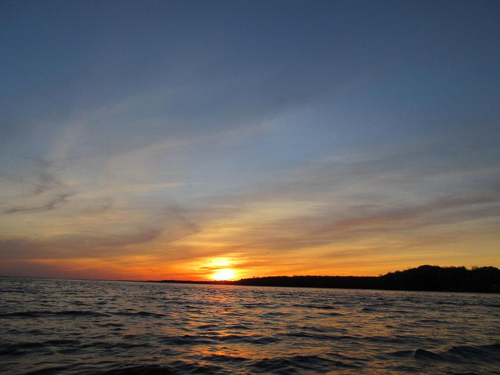 Sunset on Oneida Lake New York sunset