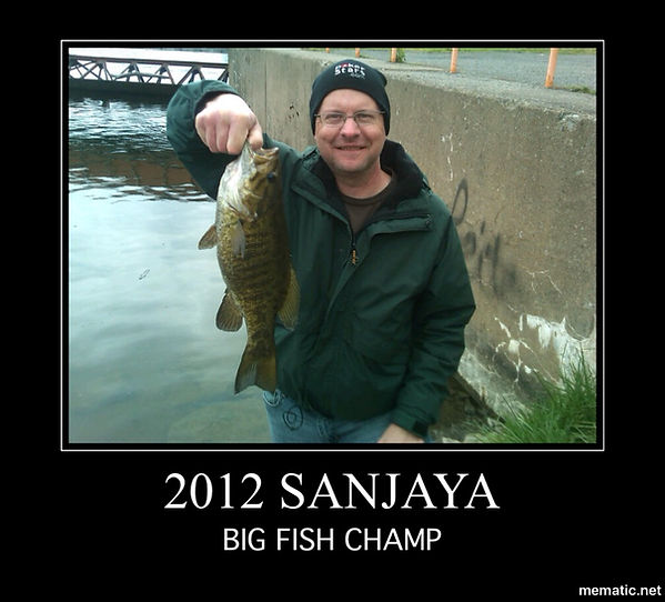 onieda lake, NY SANJAYA FISHIHNG CHAMP