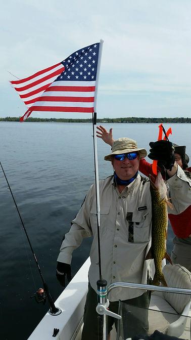 Oneida Lake N.Y. Fishing Bass, Walleye