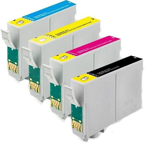 CARTUCHOS EPSON COMPATÍVEIS C79 | CX3900 | TX200 | TX300 | TX400 /4 CORES