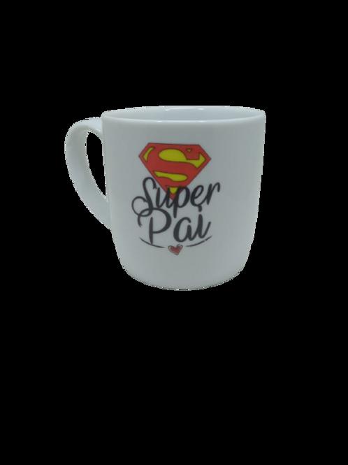"""Caneca Porcelana Personalizada """" Super Pai"""""""