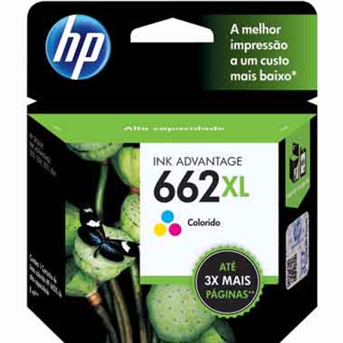 CARTUCHO HP 662XL COLOR 8 ml