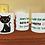 Thumbnail: Caneca de Porcelana Personalizada Gato Preto - 325ml