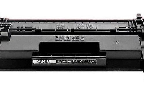 TONER COMPATÍVEL COM HP CF258 | 58A | M428FDW M404DW M428DW M404N | SEM CHIP