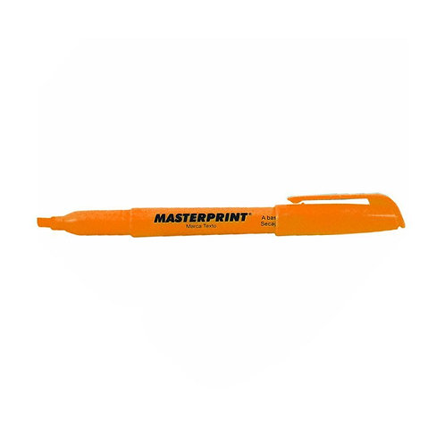 MARCA TEXTO LARANJA MP612 MASTERPRINT