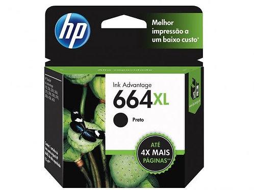 CARTUCHO HP 664XL PRETO  8,5 ml