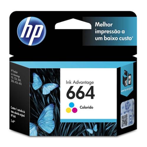 CARTUCHO HP 664 COLOR 2 ml