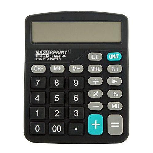 CALCULADORA ELETRÔNICA 12 DIGITOS MP 1087 Masterprint