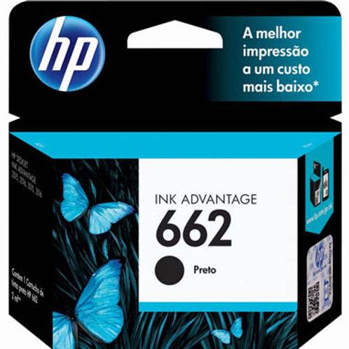 CARTUCHO HP 662 PRETO 2 ml