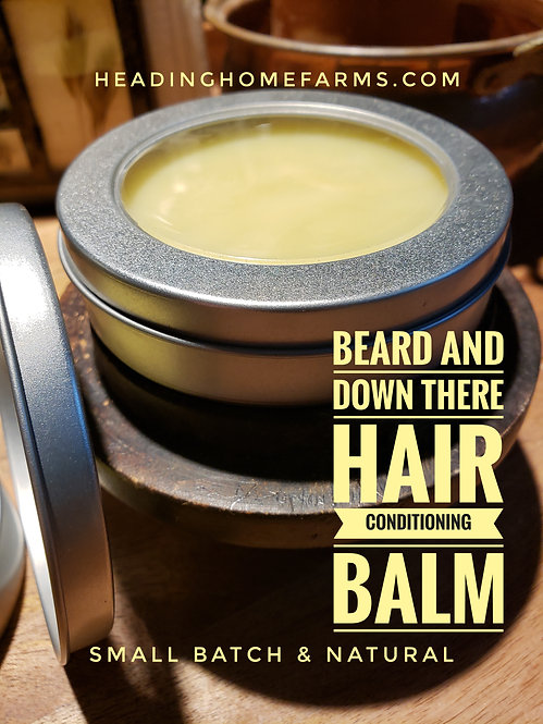 Beard & Down-There-Hair Conditioning Balm