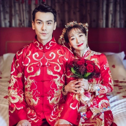 Chinese actress, Chen Zihan & former Singapore based Chinese actor, Dai Xiangyu wedding in 2016