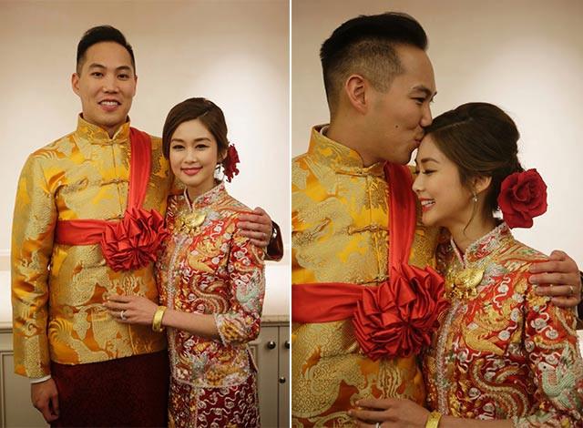 Hong Kong actress, Eliza Sam & Joshua Ngo's wedding in 2016