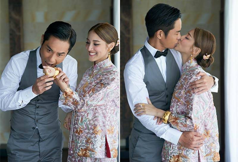 Former Miss Hong Kong, Grace Chan& Hong Kong actor, Kevin Cheng's wedding in 2018