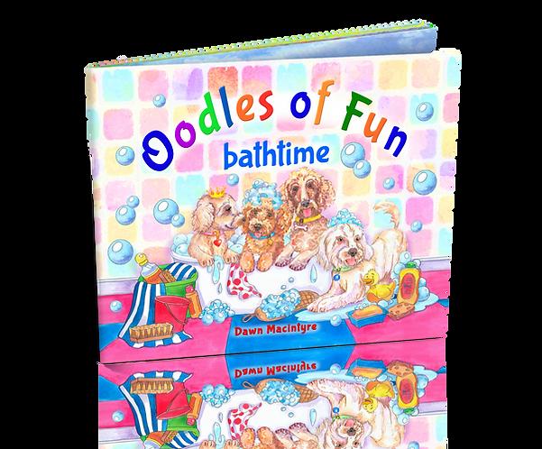 COMING SOON – Book 4: Oodles of Fun bathtime