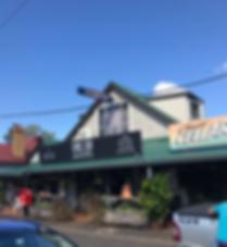 Clunes, NSW main street