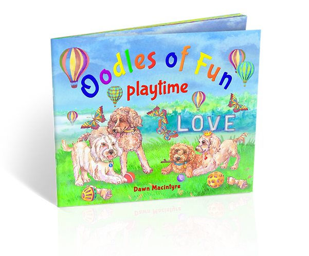 COMING SOON – Book 3: Oodles of Fun playtime