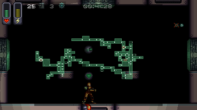 Screenshot of gameplay in A Robot Named Fight.