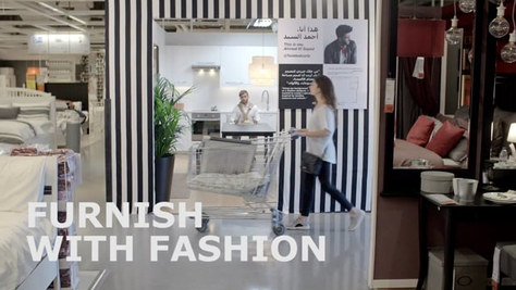 IKEA - FURNISH WITH FASHION