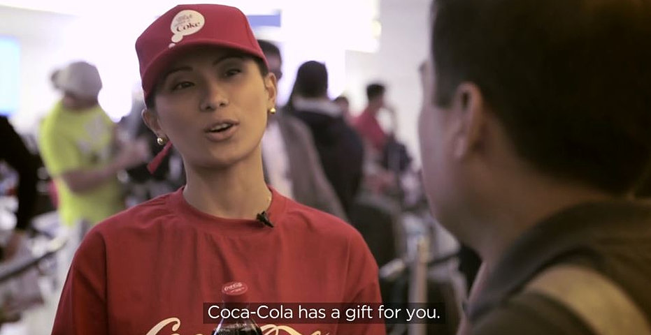 Happiness home project coca cola